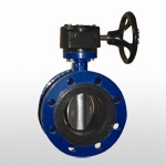 B70F Double Flange Butterfly Valve