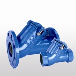 Flanged ball check valve