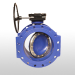 Double Eccentric Resilient Seated Butterfly Valve