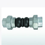 Union Type Twin Sphere Rubber Expansion Joint