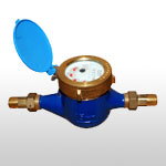 Rotating Vane Type Water Meter
