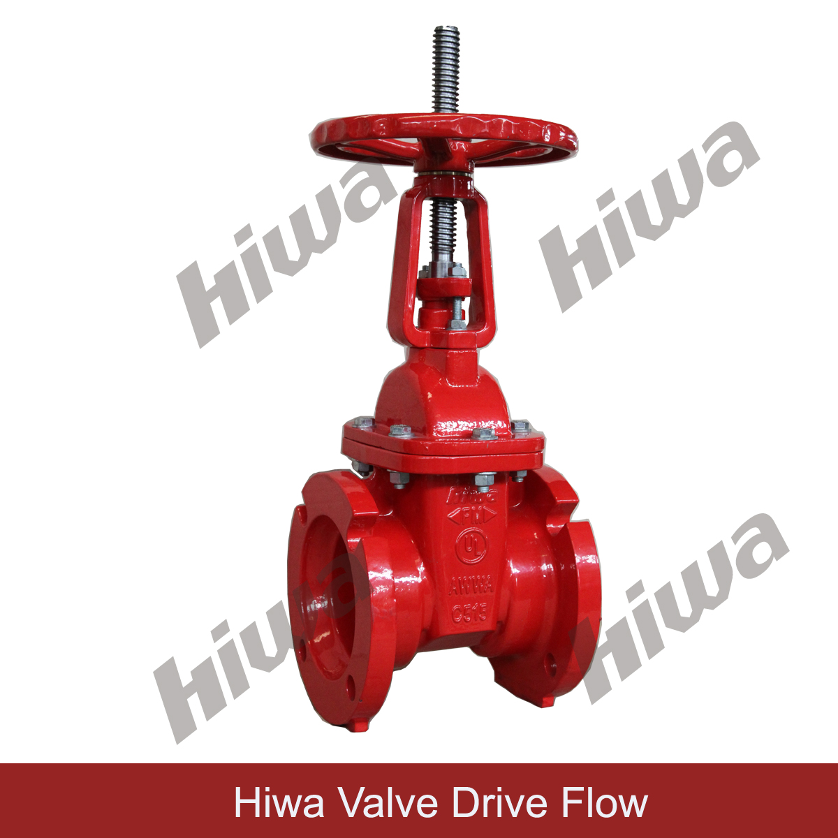 UL/FM OS$Y GATE VALVE, Mechanical Joint ends