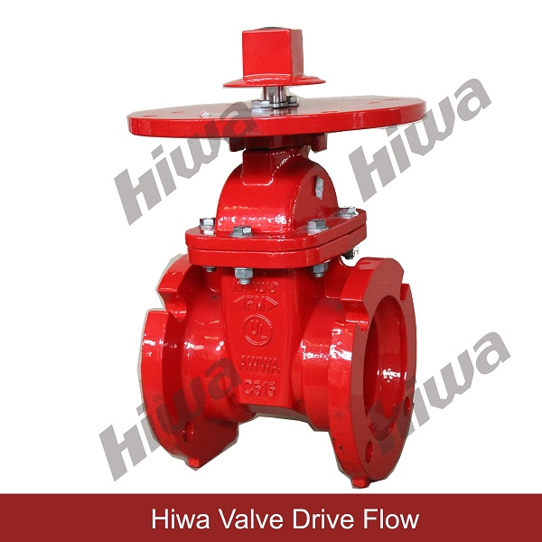 UL/FM NRS GATE VALVE, Mechanical Joint ends